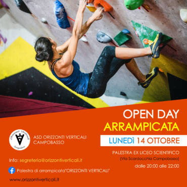Open day stagione 2k19-2k20